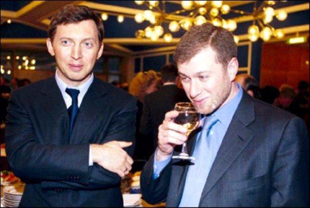 Роман Абрамович и Олег Дерипаска
