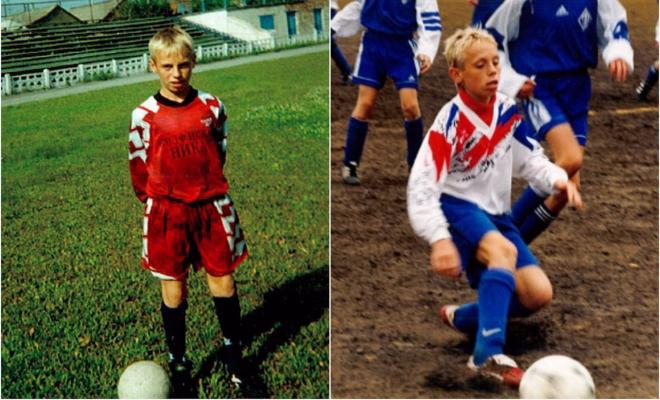 Глушаков Денис в детстве