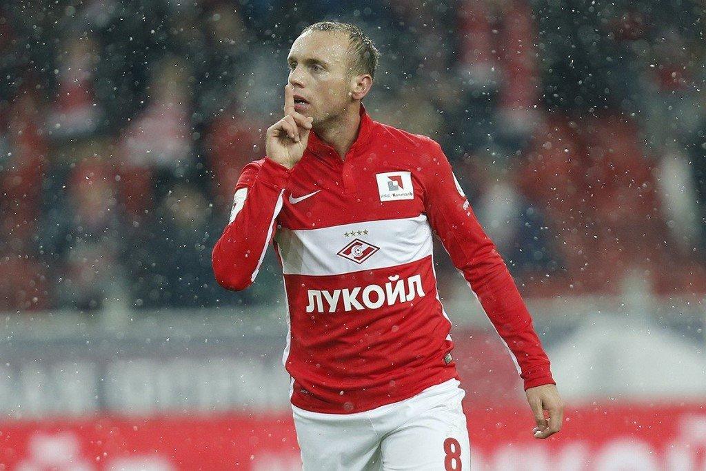"Денис Глушако играет за ""Спартак"""