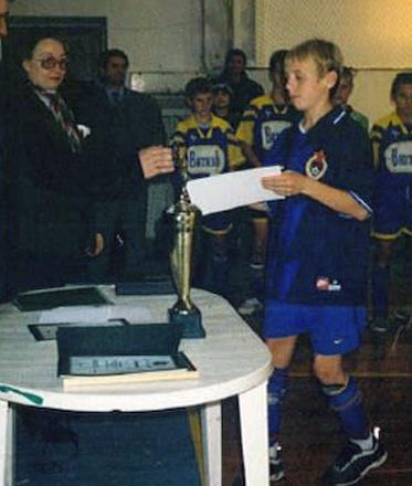 Денис Глушаков в начале славы
