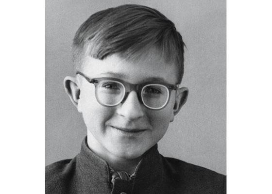 Александр Шохин в детстве