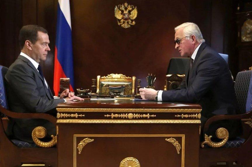 Шохин и Медведев
