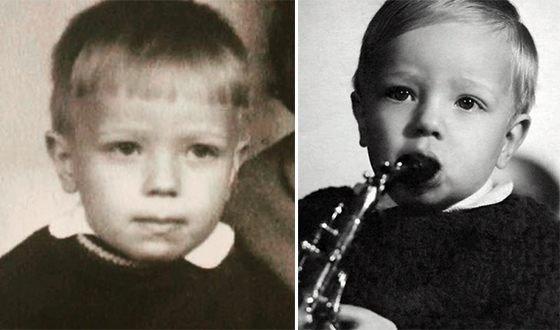 Владимир Пресняков в детстве