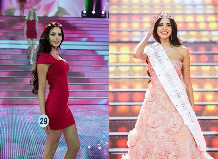 Решетова Анастасия Мисс Россия - 2014