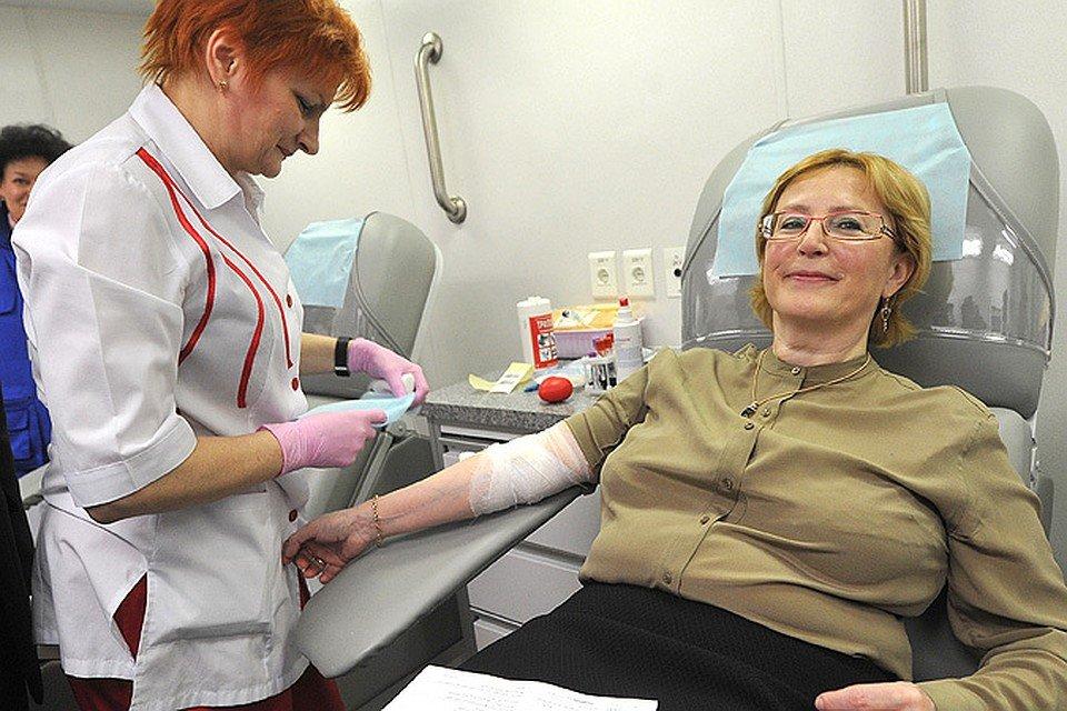 Вероника Скворцова: За два месяца количество сданной крови увеличилось