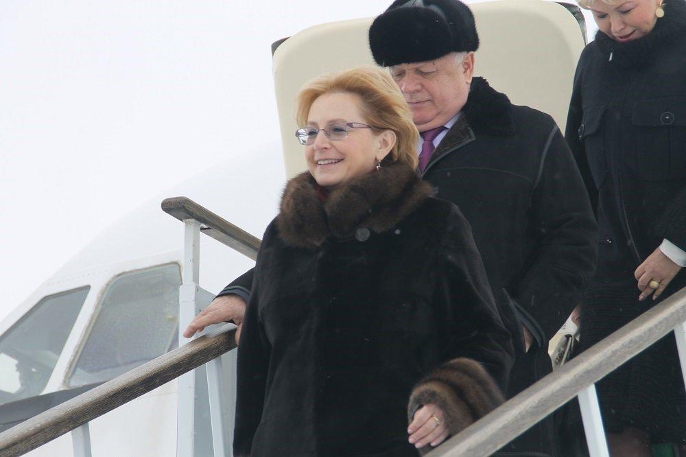 Рабочий визит Вероники Скворцовой