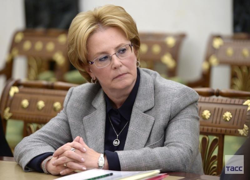 Вероника Скворцова, министр здравоохранения Р