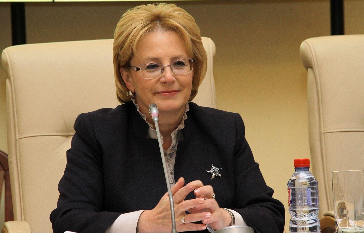 Руководитель министерства здравоохранения РФ Вероника Скворцова