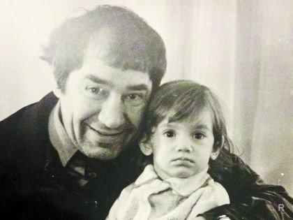 Карина Мишулина с отцом Спартаком Мишулиным