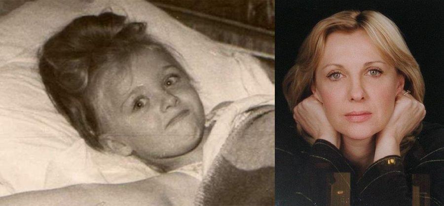 Яковлева Елена в детстве и сейчас