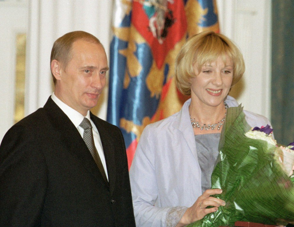 Елена Яковлева и Путин