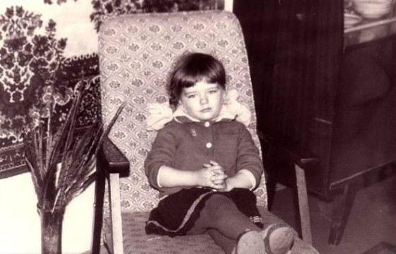 Мария Александрова в детстве