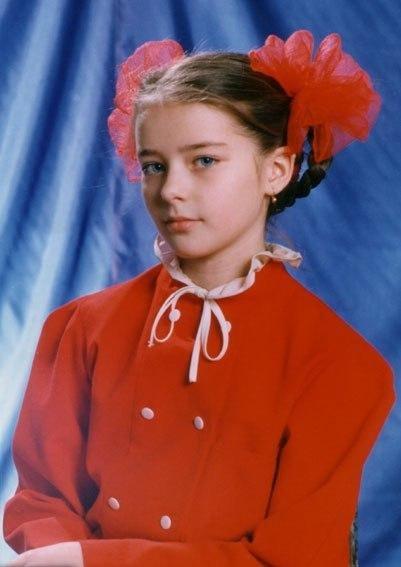 Марина Пупенина (Александрова) в детстве
