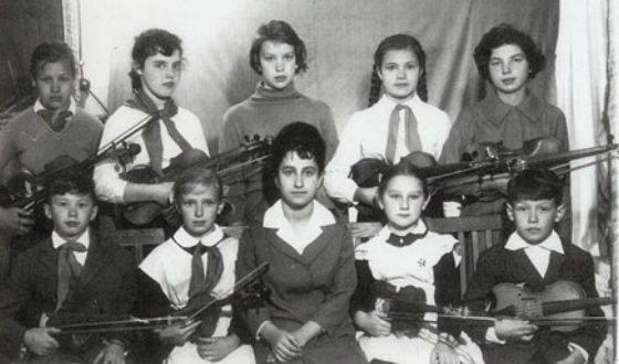 Владимир Кузьмин - класс скрипки