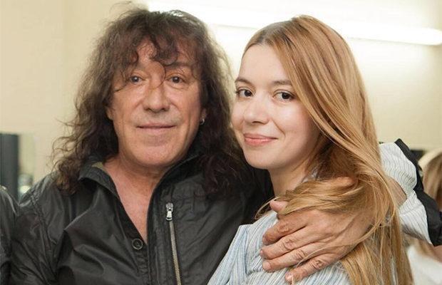 Владимир Кузьмин с дочерью Софьей