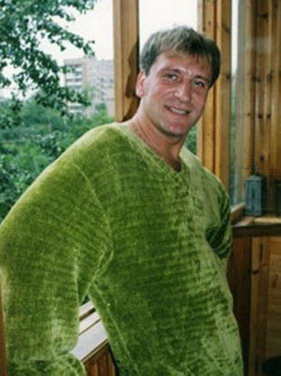 Сергей Пенкин в молодости