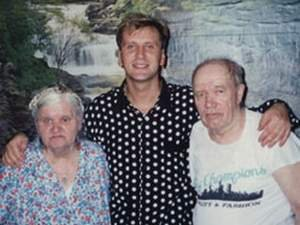 Сергей Пенкин с родителями