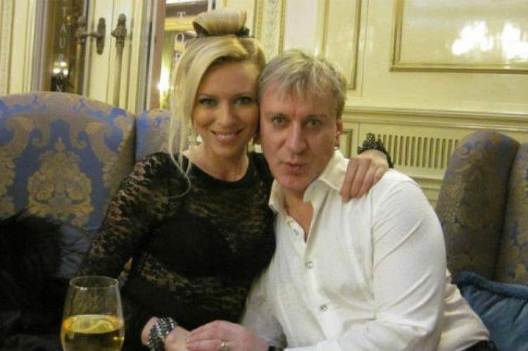 Сергей Пенкин с женой Еленой Проценко