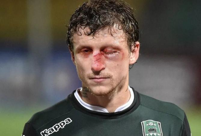 Павел Мамаев полузащитник футбольного клуба «Краснодар»