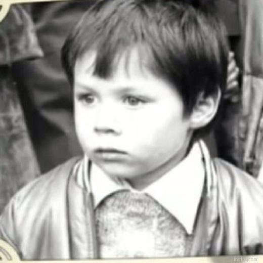 Стас Пьеха в детстве
