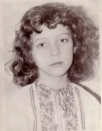 Божена Рынска российская журналистка в детстве