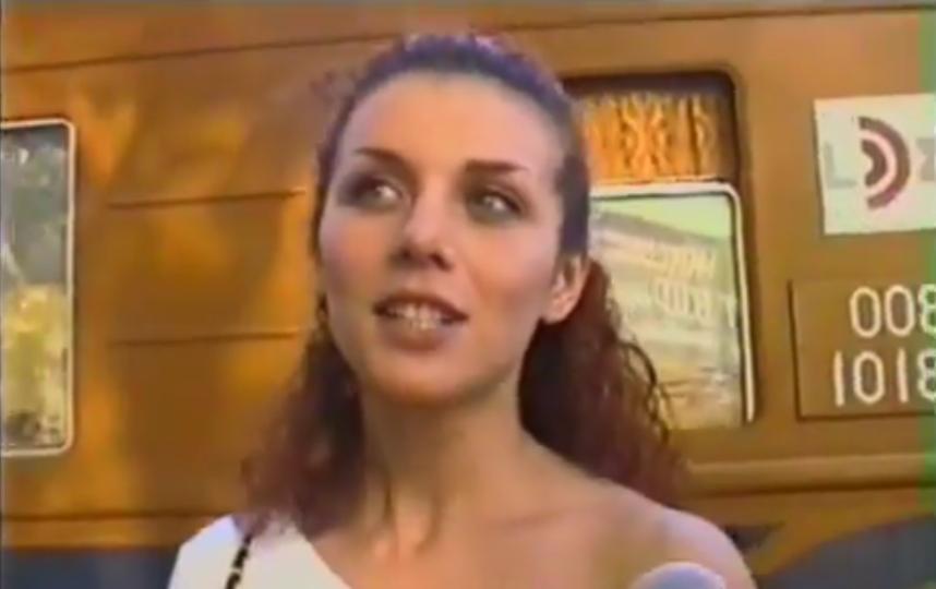 Анна Седокова в молодости
