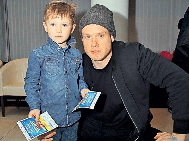 Виктор Хориняк с сыном