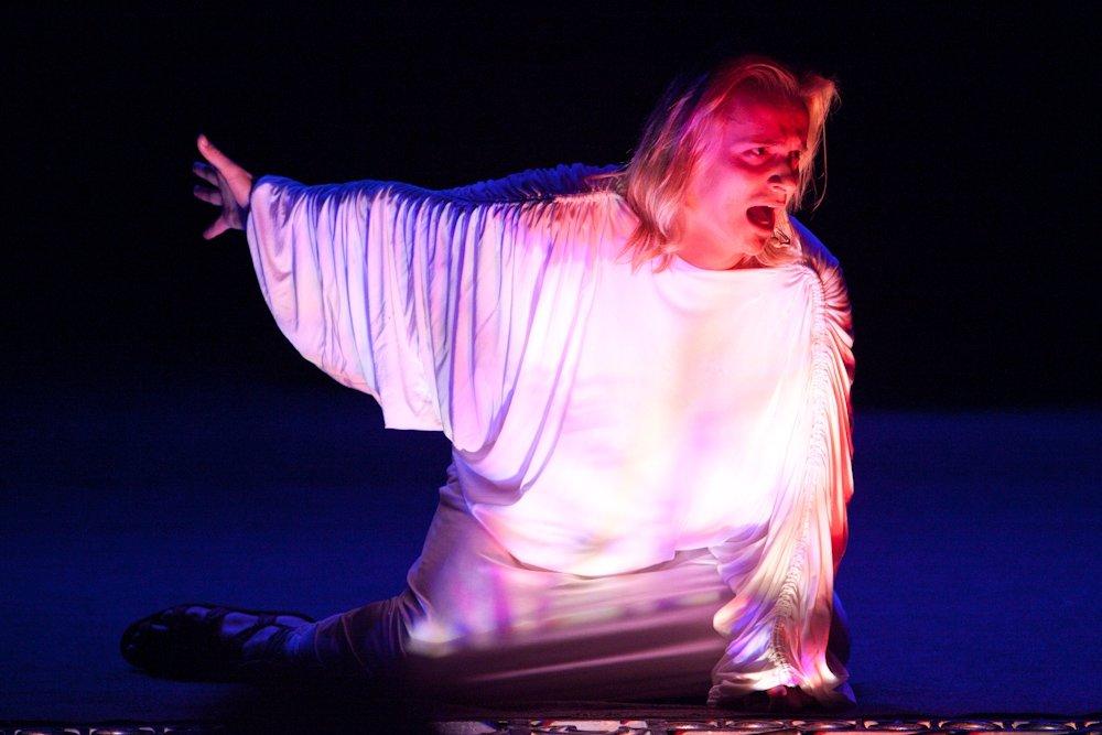 """Глеб Матвейчук в главной роли в рок-опере """"Иисус Христос-суперзвезда"""""""