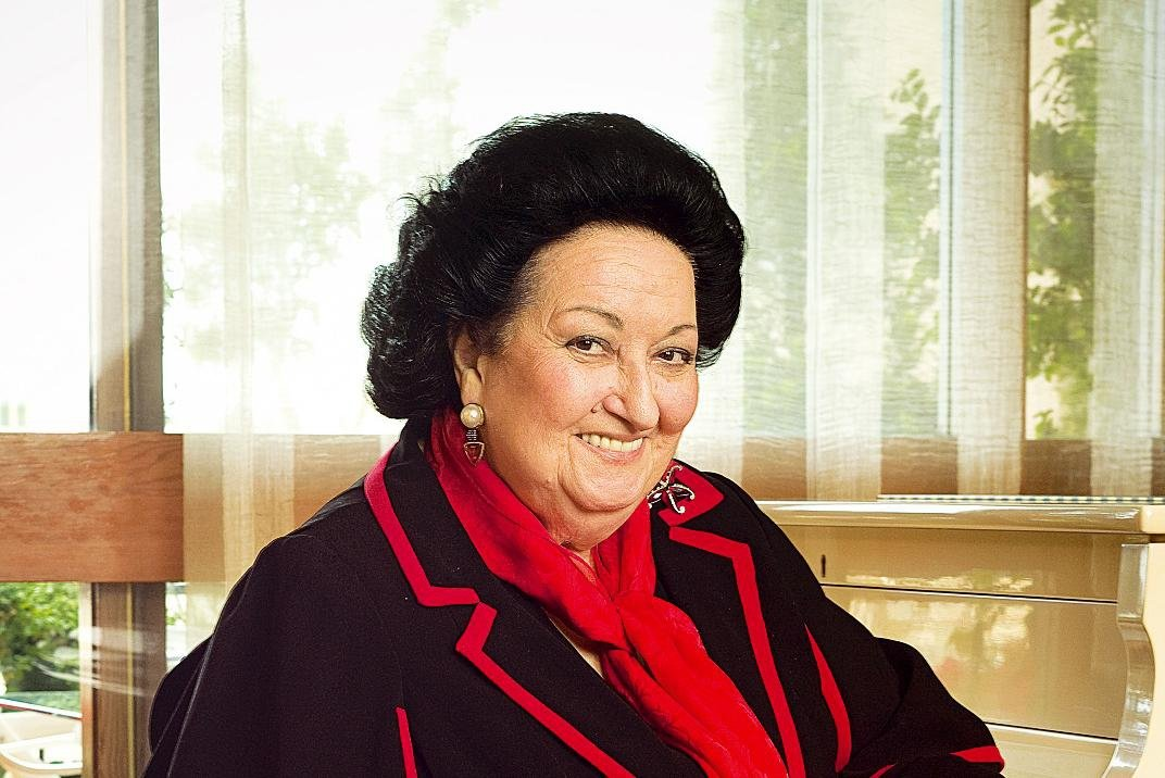 Испанская оперная певица Монтсеррат Кабалье