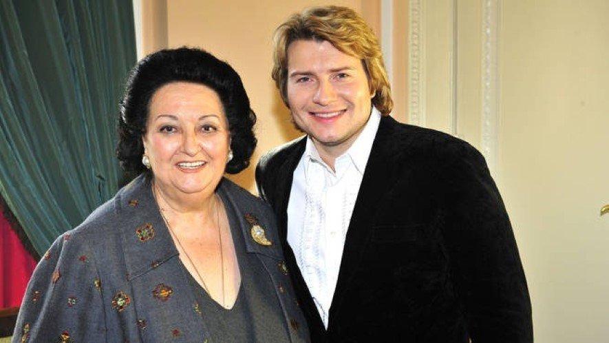 Николай Басков и Монтсеррат Кабалье