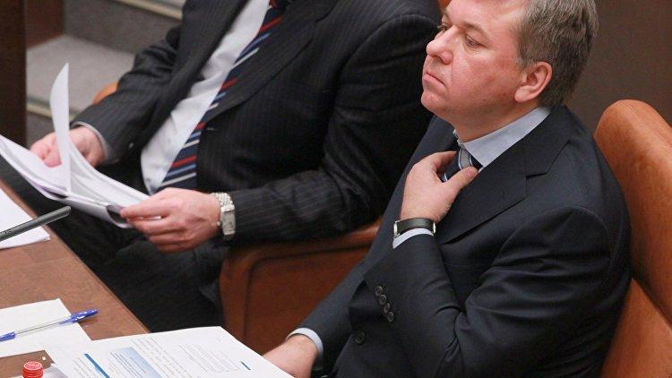 Отправленный в отставку глава Росалкогольрегулирования Игорь Чуян