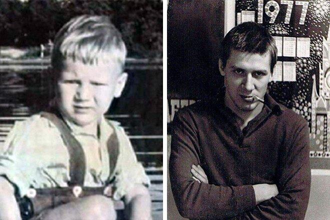 Иван Краско в детстве