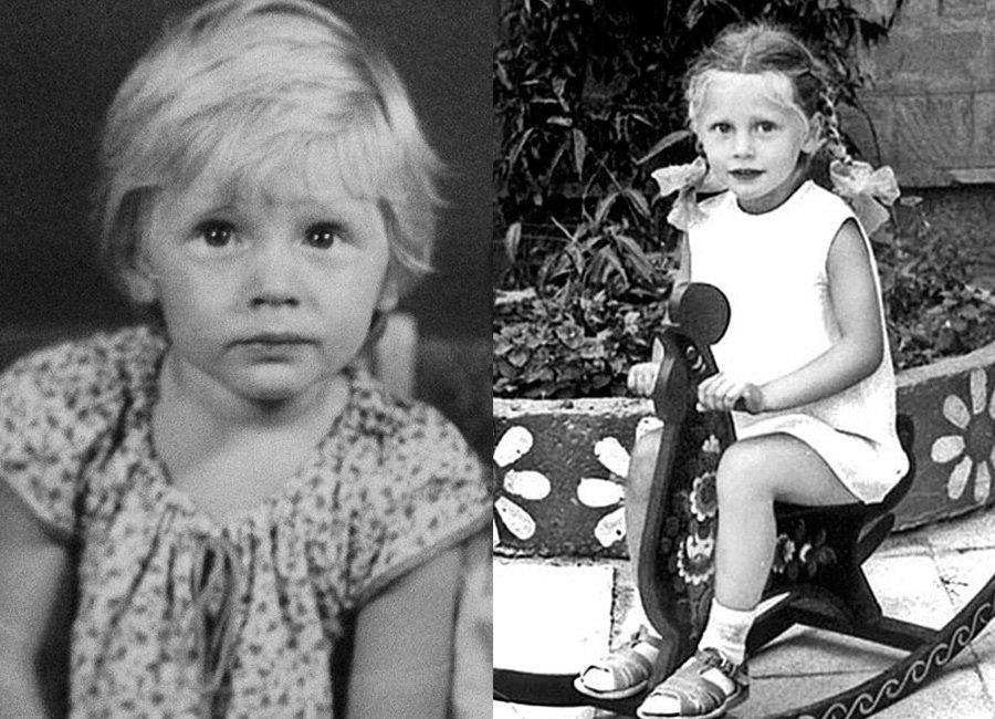 Наталья Рудова в детстве