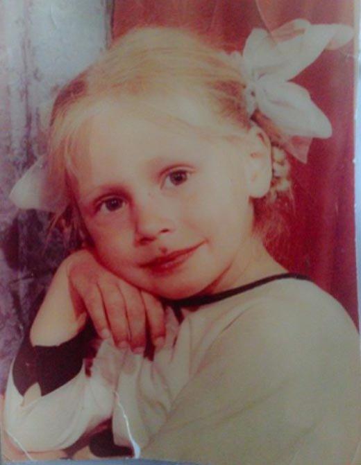 Наталья в детстве