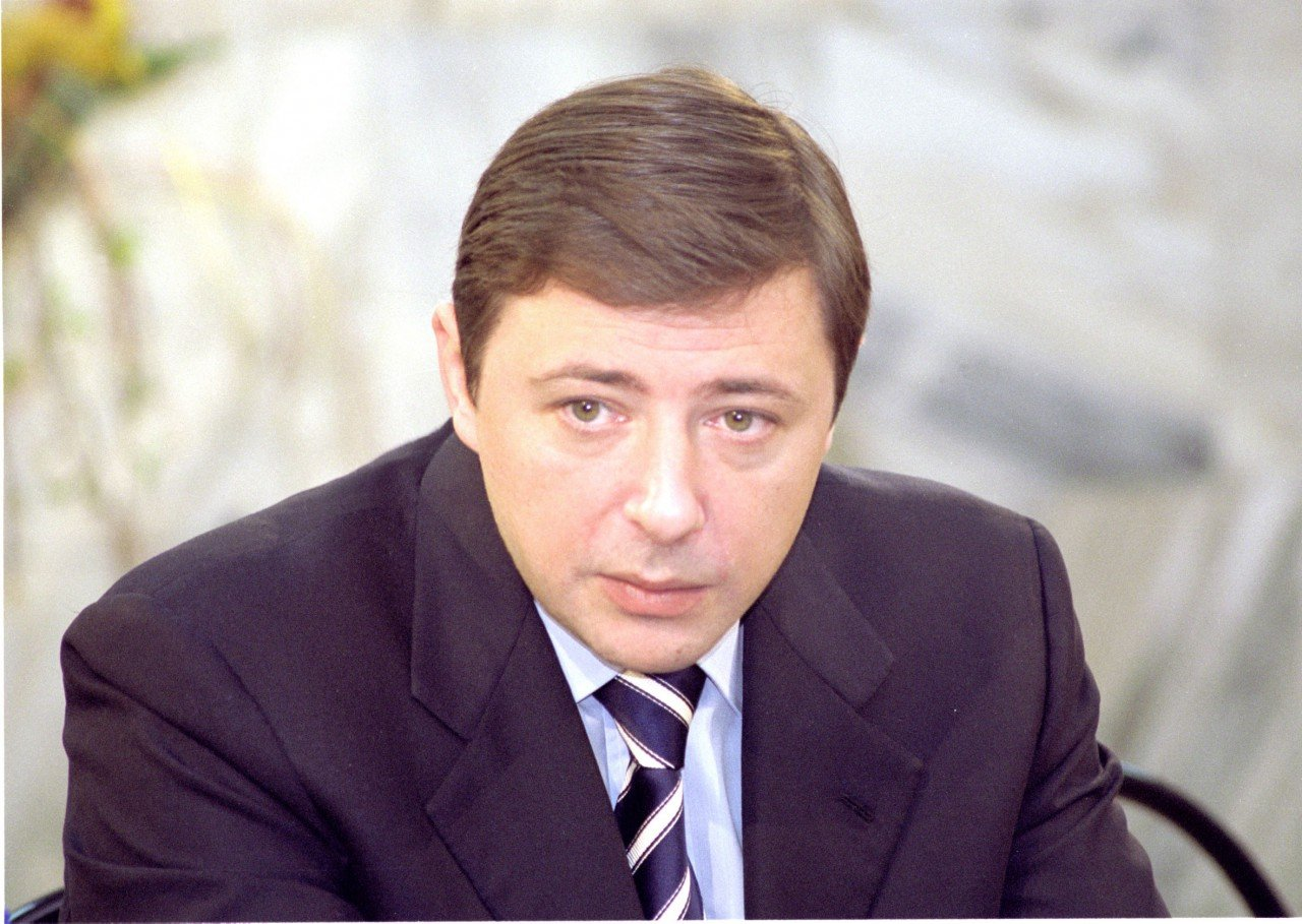 Александр Геннадиевич Хлопонин в молодости