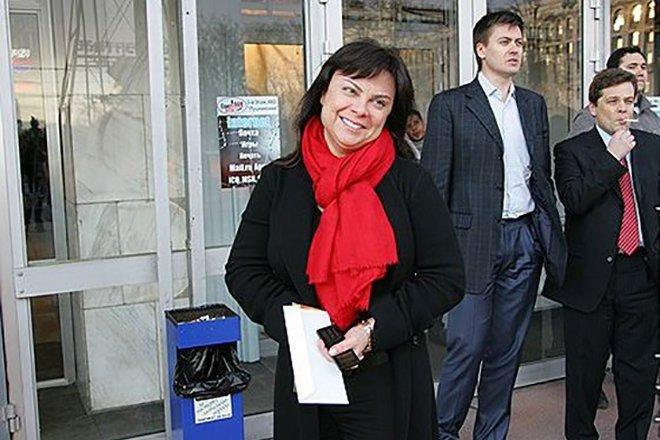 Наталья Купарадзе, жена Александра