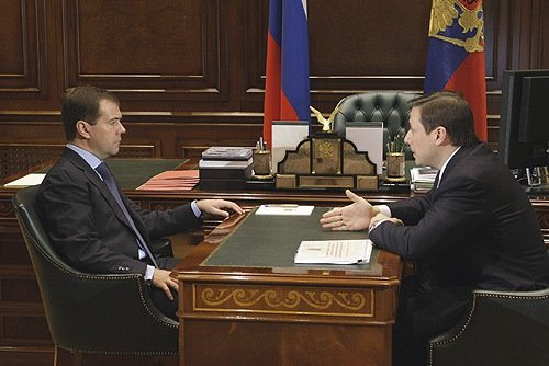 Хлопонин и Медведев