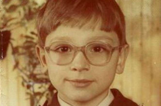 Антон Хабаров в детстве