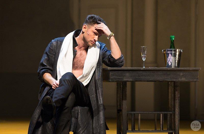 Антон Хабаров в театре