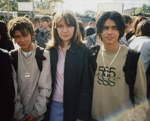 Тимур Юнусов (Тимати) и Кирилл Толмацкий (Децл) 1999 год
