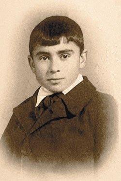 Бокерия Лео Антонович в детстве