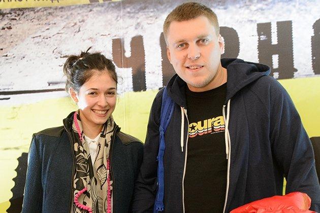 Александр Незлобин с женой Алиной