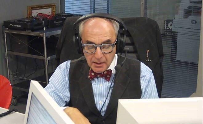 Александр Добровинский на радиостанции «Серебряный дождь»