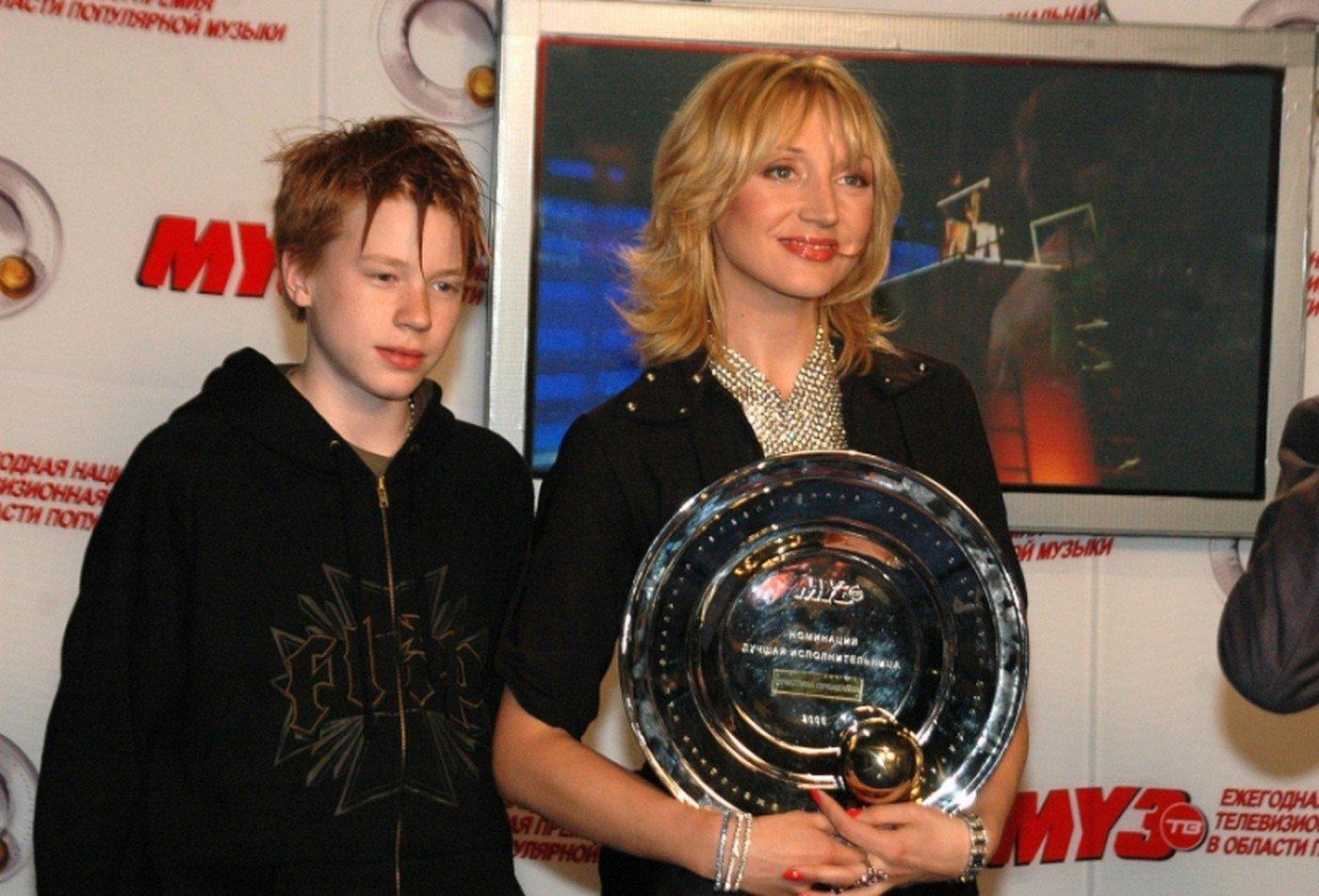 Никита Пресняков и Кристина Орбакайте