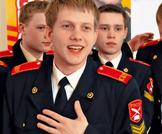 "Борис Корчевников в сериале ""Кадетство"""