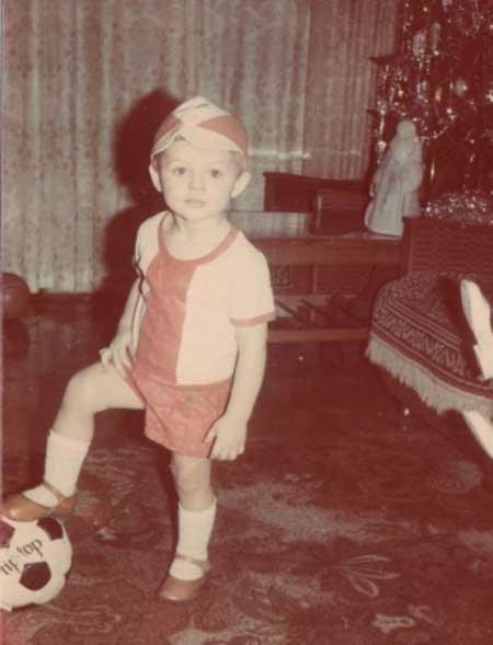 Дмитрий Тарасов в детстве