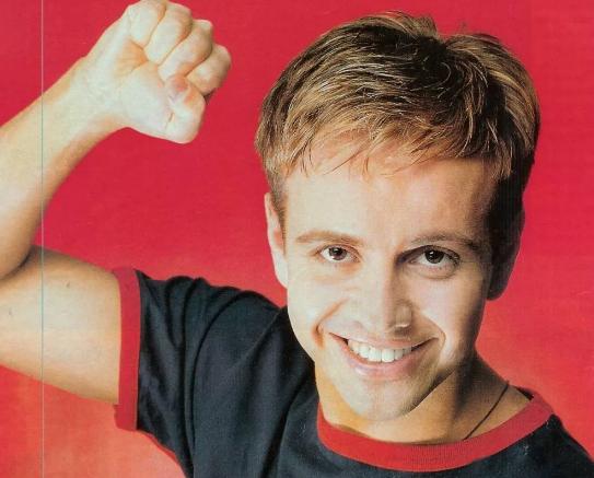 Андрея Губина в молодости