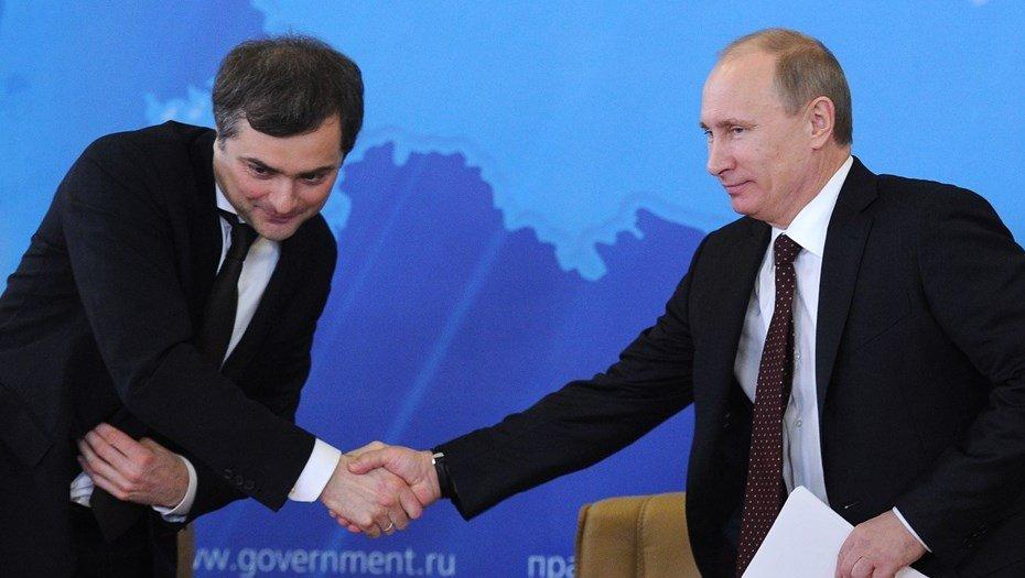 Сурков и Путин