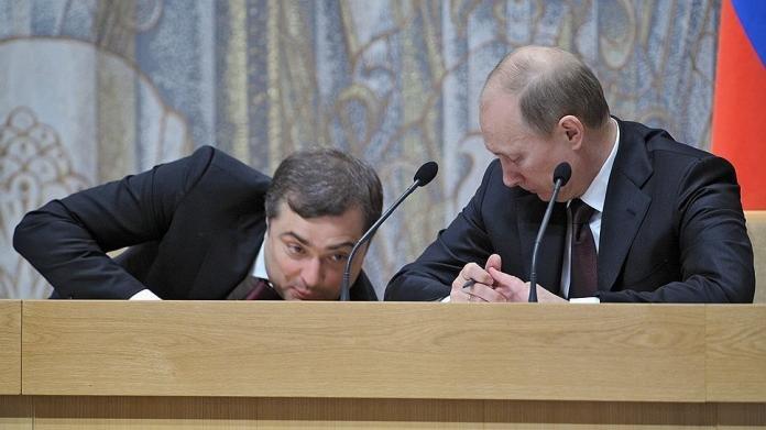 Помощник Путина Сурков