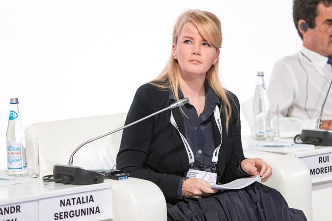 Наталья Сергунина на Moscow Urban Forum 2018